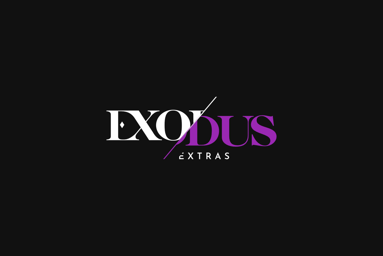 Exodus Extras Black Logo